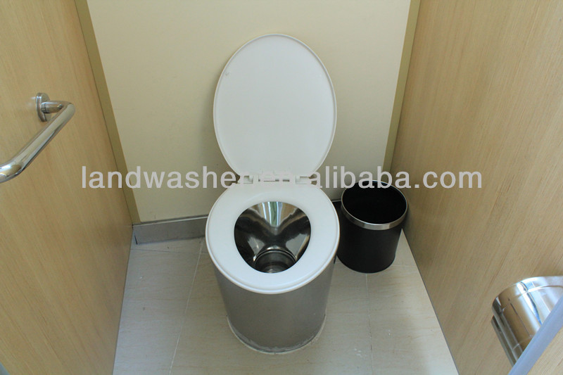 2014 environment-friendly western style stainless steel sanitary ware
