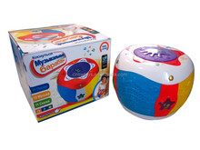 Russian Early learning centre elc children kid light and sound drums musical toy