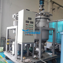 Industrial Pyrolysis oil to diesel convert distillation refinery equipment crude oil recycling machine