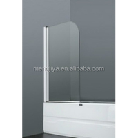 2013 new model bathtub screen/glass screen with hinges