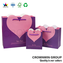 Custom Mini Paper Gift Bag For Jewelry CrownWin Packaging