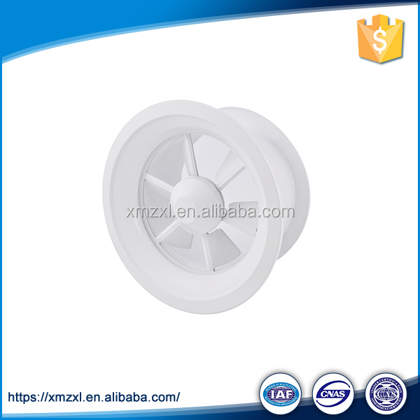 High Quality Round Swirl Diffuser Adjustable Ceiling Air Conditioning