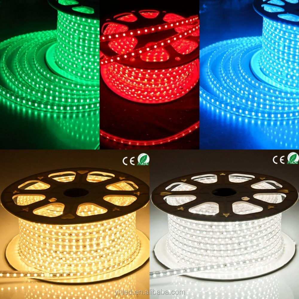 2016 Shenzhen SMD5050 led outdoor warm white 6000k 2400k led ropelight led reef light