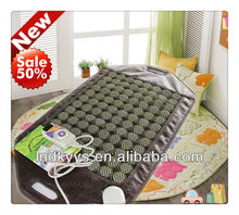Nugabest similar DKY negative ions jade heating mattress,Jade mat,Jade Pad 50*95cm CE APPROVED