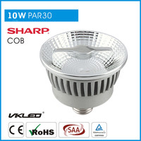 China light fitting PAR30 24 degree 3000K led par Halo Spot LED Bulb E27
