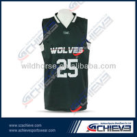 New design high quality springfit suitable and comfortable breathing all star basketball jerseys