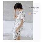 Wholesale casual high quality cotton pajamas women women summer