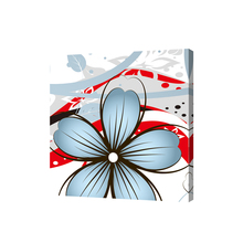 Art frame cheap stretched canvas prints flower canvas printing