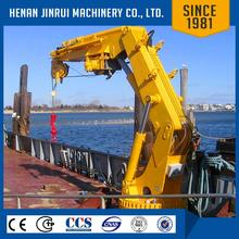 Jib Crane On Vessel/ Bunker Boat Used Crane