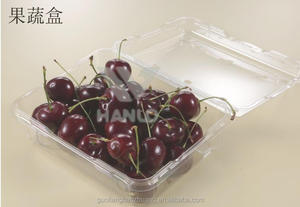 Safety Food Grade Custom Design Cheap Wholesale Plastic Clamshell Fruit Packaging