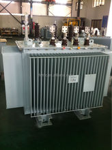 Oil immersed wound core full copper low noise transformer 300 kva
