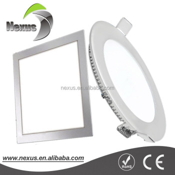 Hot selling customized led drop ceiling light panels 18W