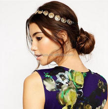 Z54141B European american style chain hairband hot sale woman head band accessory for hair/party headband