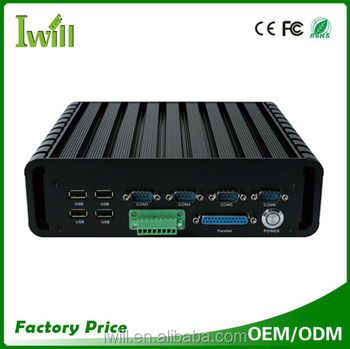 IWILL IBOX-QM87 Haswell core i5 4200M i7 4702MQ Fanless industrial computer