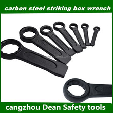 DIN7444 Impact box wrench,CASTING hammer STRIKING ring spanner