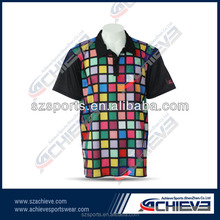 cheap custom sublimated men polo t shirt/ new design athletic sports polo shirt