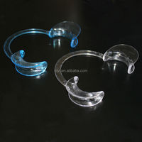 Cheek retractor for teeth whitening, mouth gag