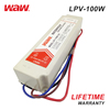 WODE Hot Selling Constant Current Waterproof Ip67 Electronic Led Driver 100W 12v