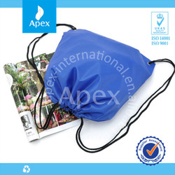 Hot sale polyester high quality custom drawstring bags
