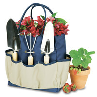 Large Polyester Garden Tool sets Garden Tote Bags