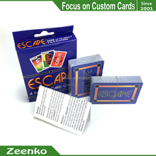 E000 custom game card printing board game Custom size / shape / material /packaging