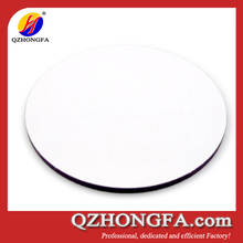 round blank plain white placemats