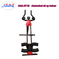 Fitness cruncher machine, ab glider power fit home trainer, abdominal home workout fitness machine