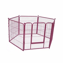 Metal folding dog run kennel indoor dog cage outdoor dog fence