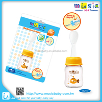 Baby care product medicine feeder with soft BPA free bottle