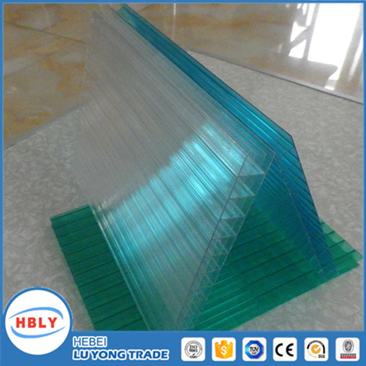 four-wall hollow sheet polycarbonate sheet