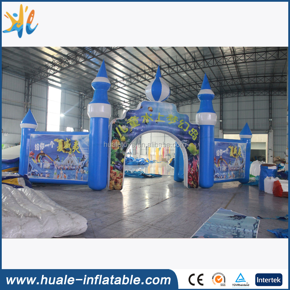 New products 2016 cheap inflatable arch door for sale