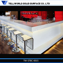 Bar chair for night clab/Marble top bar desk/LED Bar top