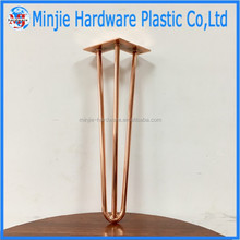 rose glod and copper table hairpin legs wholesale