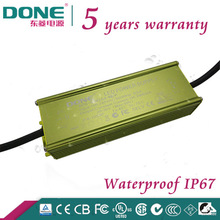 80W 20-36V Waterproof IP67 electronic LED driver with CE CB SAA C-TICK UL PSE BIS TUV Certificated