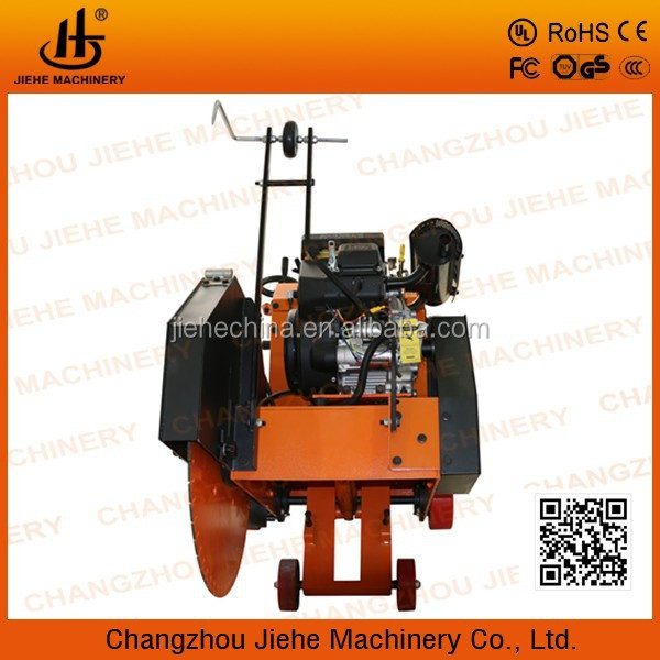 250mm cutting depth concrete road saw cutting equipment with Kohler CH680 JHD700