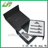 2016 OEM printing electronic cigarette gift box with EVA tray