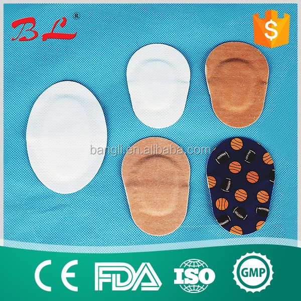 kids eye pad wound care eye dressing surgical adhesive eye plaster