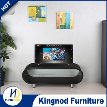 Wooden White TV Stand, Glass Unit Modern TV Cabinet, WOODEN HOME FURNITURE TV WALL UNIT
