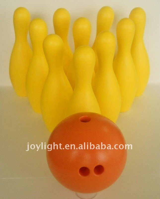 PU bowling toy set