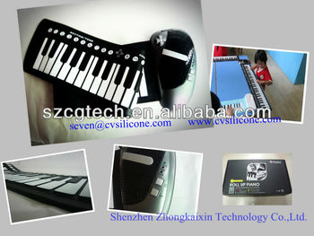 Best Seller!!Roll up piano, silicone piano,flexible piano, 61 keys, musical instruments,educational toy