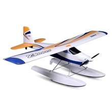 3U-80472 FMS 1220MM Wingspan Super EZ V2 Trainer RC Airplane With Floats RTF 2.4GHz Radio Control Model