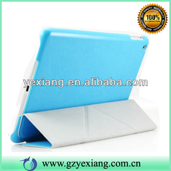 Have Different Stand Way Smart Leather Case Cover For ipad Air Tablet Case