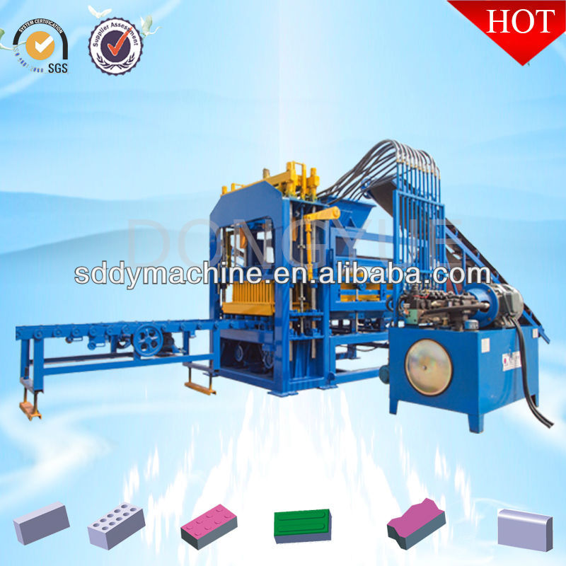 Gypsum hollow blocks making mahcine QT4-15C