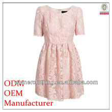 New arrival Customize Costume ladies' lace overall pleated hot sexy girls night dress