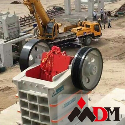 sand and stones jaw crusher plant
