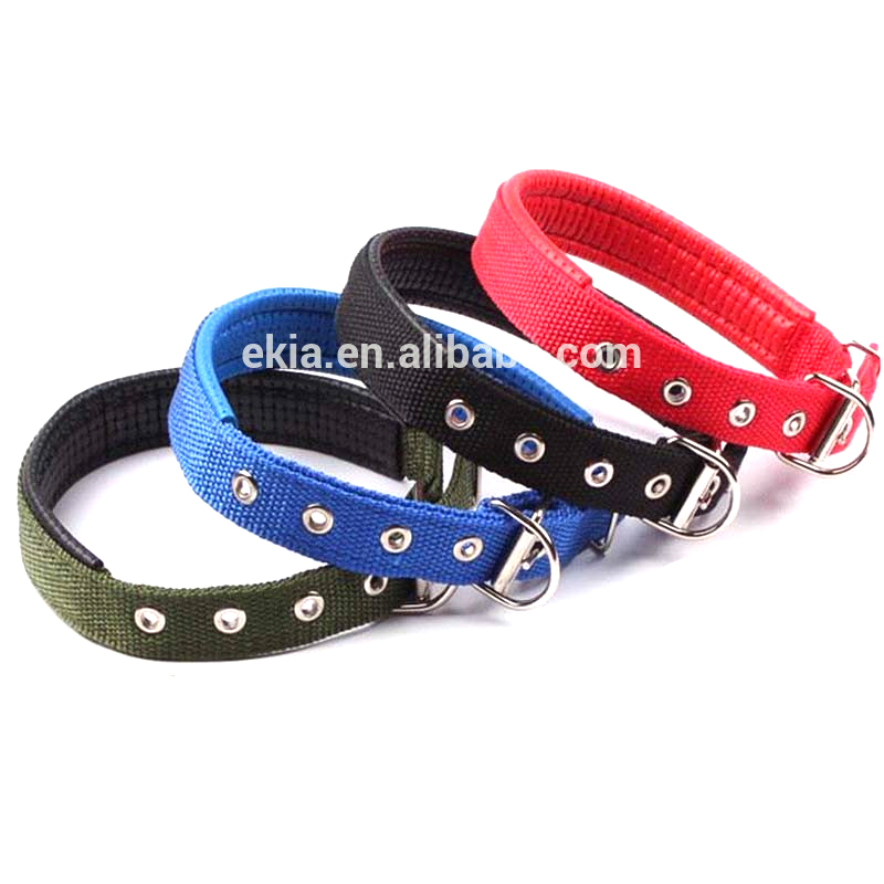 2017 Hot Sale Cheap Padded Nylon Hunting Dog Training Collar