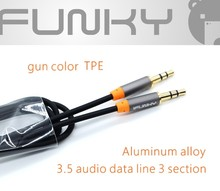 AUX CABLE 3.5mm audio cable male to male extension cable for MP3 player