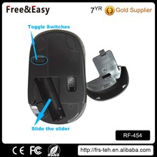 Comfortable shape 2.4ghz wireless mouse for laptop PC