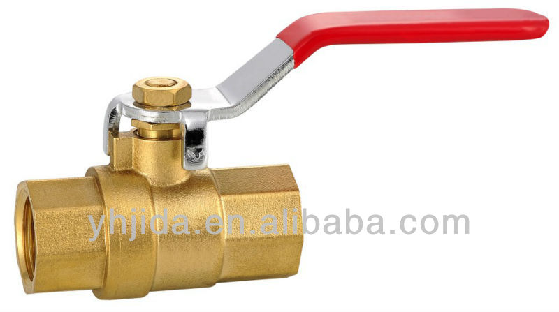 gear operated type ball valve