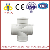 high quality pvc pipe fitting downstream four links